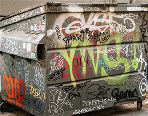 unsightly property and graffiti